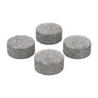 Este Conjunto de Almofadas para concentrados encaixa dentro das Cápsulas de Dosagem e é utilizado para vaporizar ceras e óleos